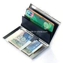 Étui pour carte de passeport pour carte de crédit en métal 2016