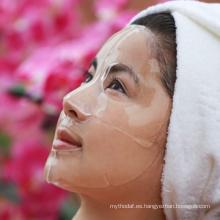 Máscara facial del colágeno de la máscara facial del ácido hialurónico de la hidración de OEM / ODM para los balnearios faciales