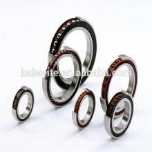7300 series single row angular contact ball bearings for slot car motor