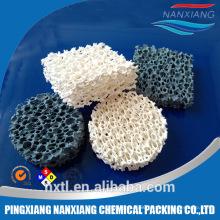 Sic , Alumina,Zirconia foundry Ceramic Foam Filter