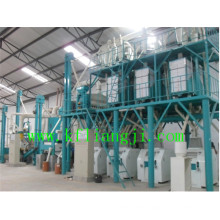 50-200 Tons Steel Framed Flour Mill Plant