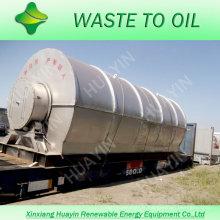 2013 le projet sans pollution le plus populaire à haut risque --- Recyclage des pneus usés à l'huile de four
