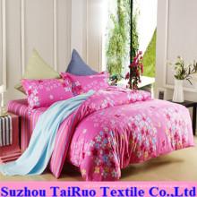 Disperse Print Bedsheet Set of 100% Poly Pongee Fabric