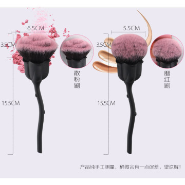 bloem makeup brush rozenkwarts brush makeup