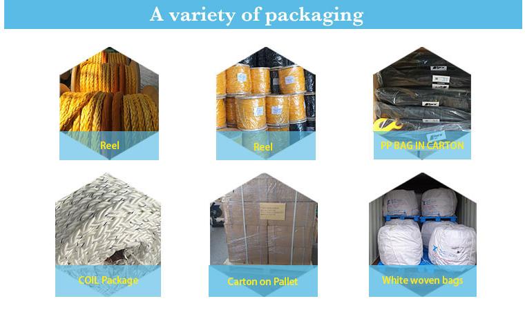 manila rope packing