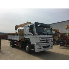 4X2 6 Ton Cargo Truck with Foading Crane