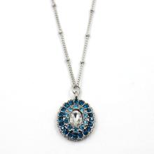 Ожерелье из бисера с бриллиантами