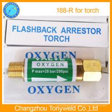 188R oxygen flashback arrestor for welding torch