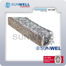 Emballage graphite renforcé avec du fil métallique