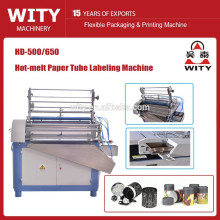 HD-500/650 Automatic Paper tube Labeling Machine