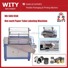 Máquina de etiquetagem automática de tubo de papel HD-500/650