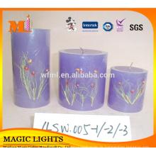 Meistverkaufte gute Qualität konkurrenzfähiger Preis umweltfreundliche Wachs Bulk religiöse Kerze