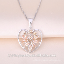 Heart shape lover pendant Precious Ruby Gemstone Heart Shaped Valentine Gift Love Pendant