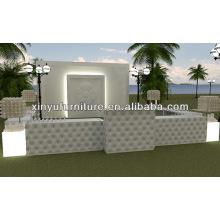 Modern white outdoor wedding furniture XW1001