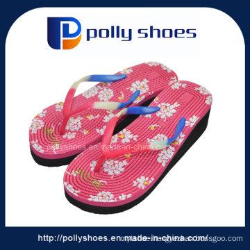 New Design Casual Women High Heel Slipper