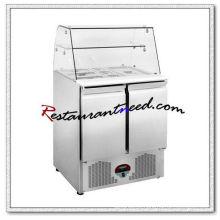 R267 0,9m 2 portas Banco de trabalho de estufa de resfriamento estático com vidro curvado