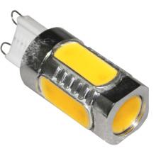 Bombilla de ahorro de energía LED Bulb COB G9 5W 2700k blanco cálido