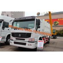 Camión de basura comprimido Howo 6x4
