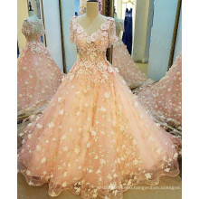 LS79887 2016 see through without dress sexy girls photo wholesale chiffon evening dress with lace jacket