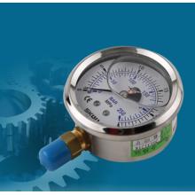 Hydraulic pressure gauge for industrial machinery