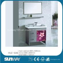 Vainela de banheiro com aço inoxidável de venda a quente com espelho