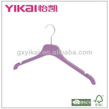 Rubber lacquer ABS coat hanger