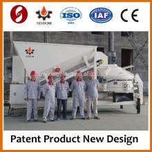 Mini misturadoras de betão móvel fabricam apenas na China