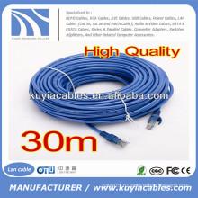50FT RJ45 Cat6 патч-кабель синий для компьютера
