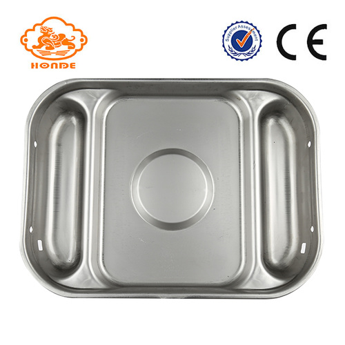 Acero inoxidable Sow Wet Feed Pan en venta