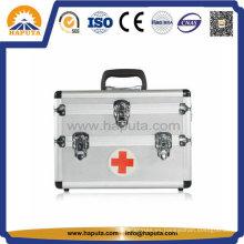 Caja médica de primeros auxilios de aluminio con 3 cerraduras (HM-2008)