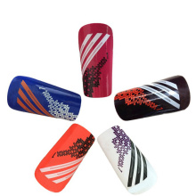 Kustom pp shell EVA padding Soccer Shin guard