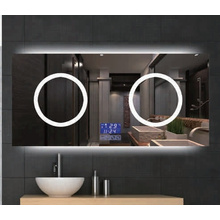 Wall Mounted Home Decor Hotel Bathroom Makeup LED Lighted Mirror