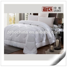 Hot Selling White King Bed Wholesale Air-coundition Room Use 200GSM Duvet