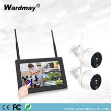 2CH 2.0MP WIFI NVR-kits met touchscreen