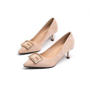 Damskie Sharply Toe Kittien Heels Pumps