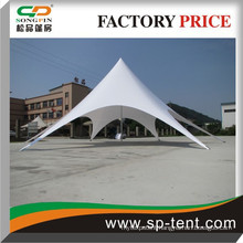 Fireproof PVC fabric star shape tent beautiful play tent