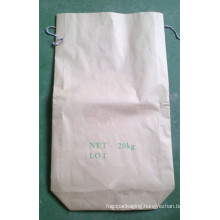 Square Bottom Kraft Paper Bag for Silicon Carbide Powder 20kg
