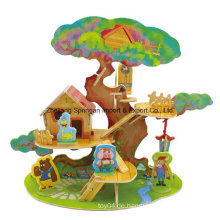 Holz Collectibles Spielzeug für DIY Häuser-Baum Haus