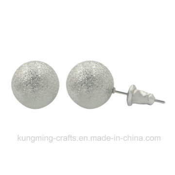 Unique Style Pearl Silver Earrings for Girls Wholesale 2016