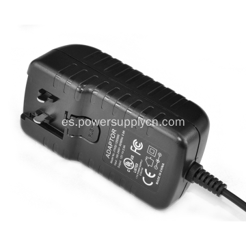 Adaptador de corriente 24V 1A con enchufe intercambiable