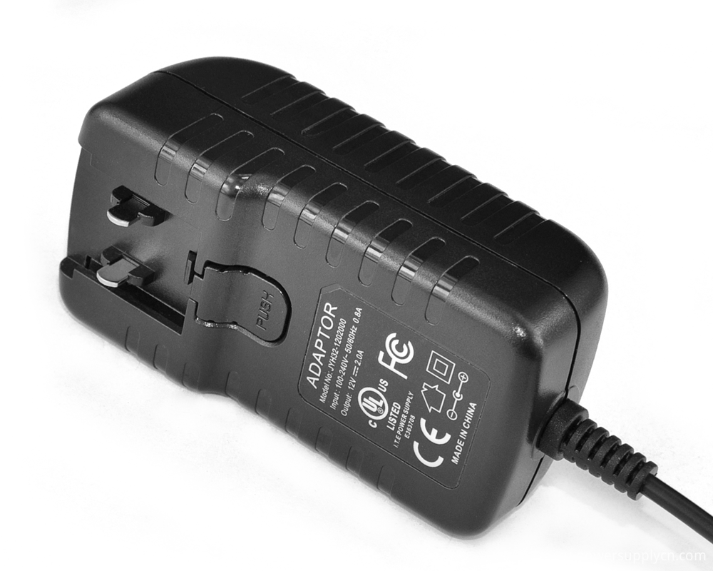 Interchangeable Plugs Wall Adapter Charger 19V1A