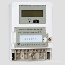 Medidor eletrônico da Multi-taxa da fase monofásica com comunicação da onda de portador / PLC