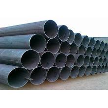 Tube en acier ERW galvanisé et noir certifié SGS sans soudure