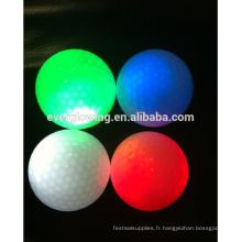 balles de golf lueur arc-en-ciel HOT vend 2017