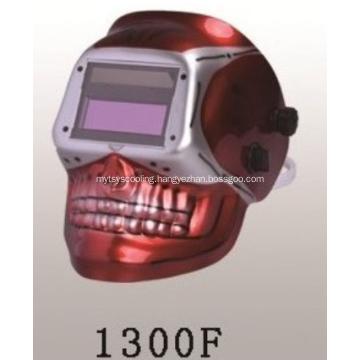 Skull Solar Powered Auto Darkening Welding Helmet