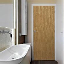 Двери для ванных комнат в скандинавском минималистском стиле с узкими границами