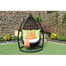 Patio Garden Wicker Swing Chair PE Rattan Hammock