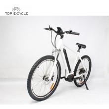 Rueda de 26 pulgadas vintage Bafang MAX mid drive motor eléctrico bicicleta / dubai bicicleta de bicicleta eléctrica
