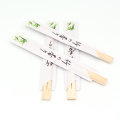 custom printed disposable chopsticks bamboo  for sale