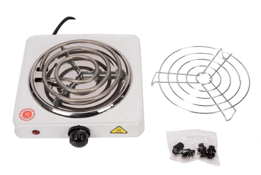 Portable Single Electric Burner.